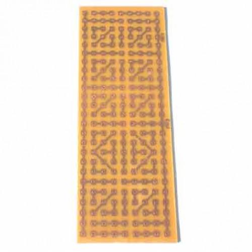 Placa Padrão De Fenolite Modelo PP3 5x13cm