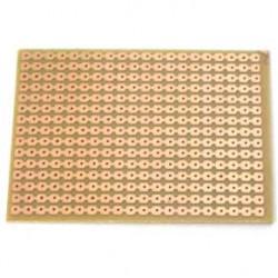 Placa Padrao De Fenolite Modelo PP4T - Tipo Trilha 8x10,5cm