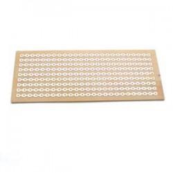 Placa Padrão De Fenolite PPE1 5x10cm - Tipo Trilha