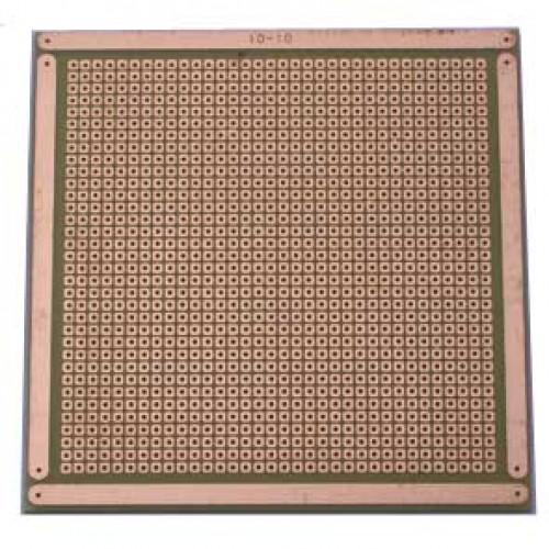Placa De Circuito Impresso Padrão 10x10 Cm Tipo Ilha