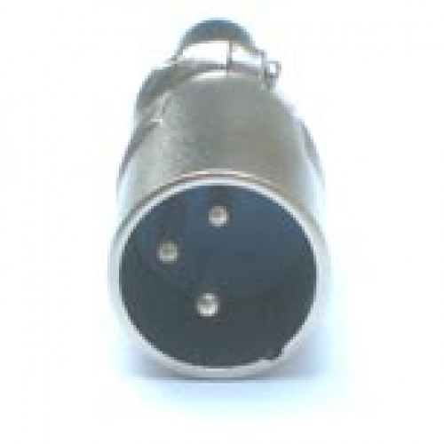 Plug Canon Macho LS1015 3 Pinos  (Comprimento 61mm)