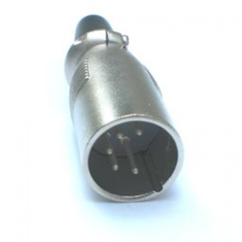 Plug Canon Macho LS1015 5 Pinos  (Comprimento 61mm)