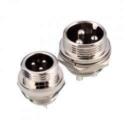 Plug MIC 3 Pinos Painel