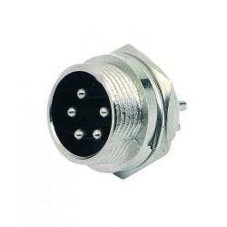 Plug MIC 5 Pinos Painel