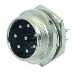 Plug MIC 8 Pinos Painel
