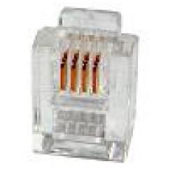 Plug Modular RJ11 6P4C (YH006)