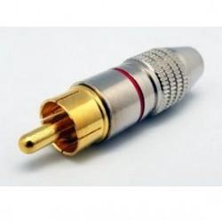 Plug RCA HDG-245 Metálico 5/6mm