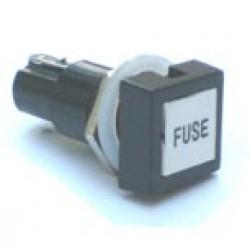 Porta Fusível 20AG Quadrado Modelo BF-1