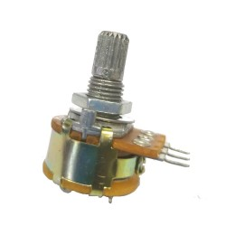 Potenciometro Linear Mini L16 Com Chave 100K
