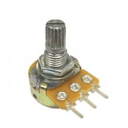 Potenciometro Linear Mini 200K L15
