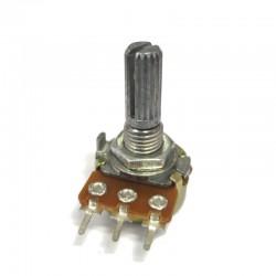 Potenciometro Logaritmo Mini 500KA L20