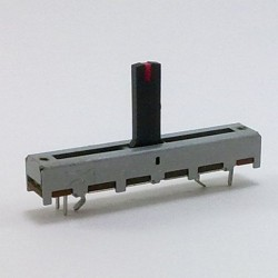 Potenc. Desliz. 100K Linear (SL30V3 W100K L-15D/BRACKET/RED)