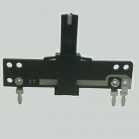 Potenciometro Desliz. 10K Linear (NSL307N B10K L-8.5/WHITE/CC)