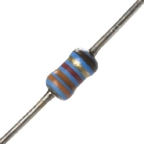 Resistor De 887K Carbono 1% 1/4W (CZ,CZ,RX,LR,MR)