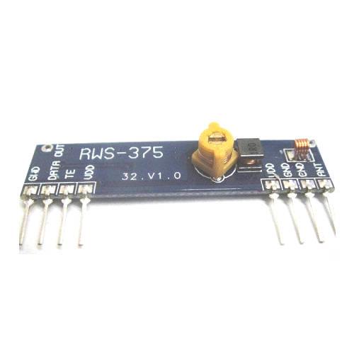 Módulo Receptor De RF 433.92 MHz (RWS-375-6)