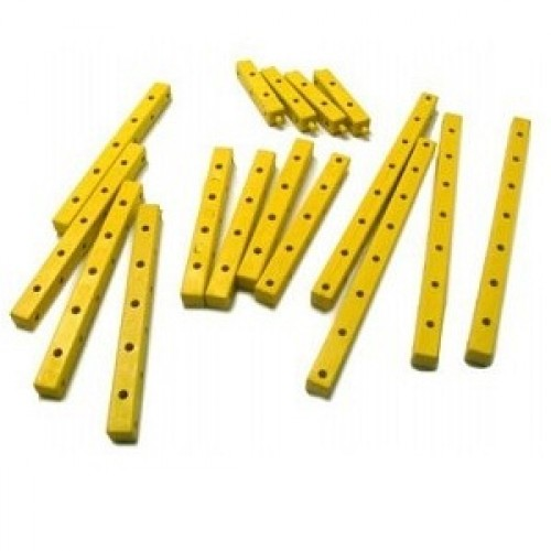 Modelix 020 - Kit De Vigas Termoplasticas 3D Amarelas