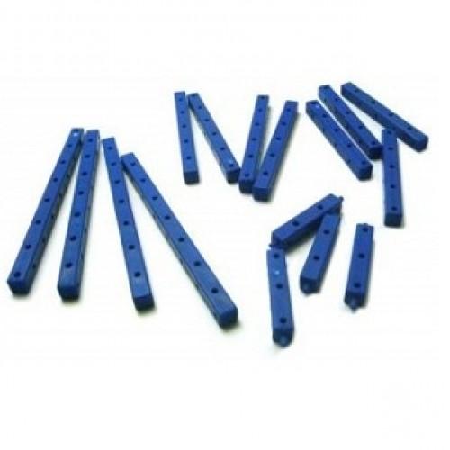 Modelix 021 - Kit De Vigas Termoplasticas 3D Azuis