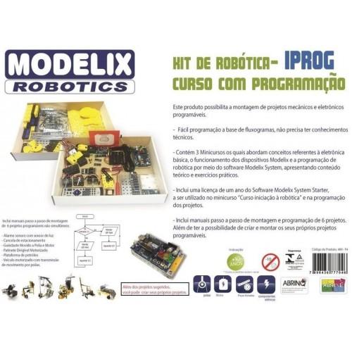 Modelix 489 - Kit De Robótica Modelix - F4 - IPROG - 489