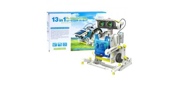 Robô 13 em 1 Energia Solar - Kit Robótica Educacional