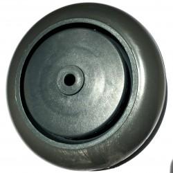 Roda De Plastico 5 Polegadas Com Rolamento 127mm X 43mm