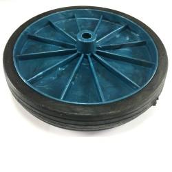 Roda De Plastico Reforçada Azul 157mm X 43mm
