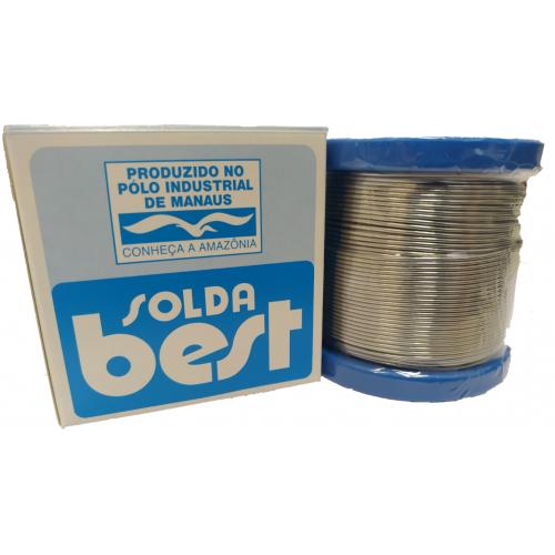 Rolo De Solda Best Azul 189 MSX08 60x40 1/2 Kilo Fio 0,8mm
