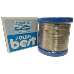 Rolo De Solda Best Azul 189 MSX10 60x40 1/2 Kilo Fio 1mm