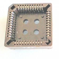 Soquete PLCC52 180 Graus Estanhado