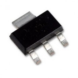 Circuito Integrado LM1117-3.3 SMD SOT223 (ASM1117)