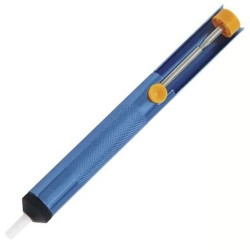 Sugador De Solda Corpo em Alumínio Brasfort 7238 Azul Claro