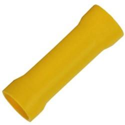 Terminal Luva Amarelo Isolado Emenda 4 a 6mm2