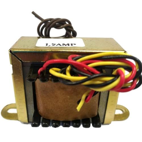 Transformador 7,5+7,5V 1,5A - Entrada 110/220VAC