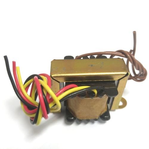 Transformador 3+3V 100mA - Entrada 110/220VAC