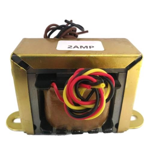 Transformador 9+9V 2A - Entrada 110/220VAC