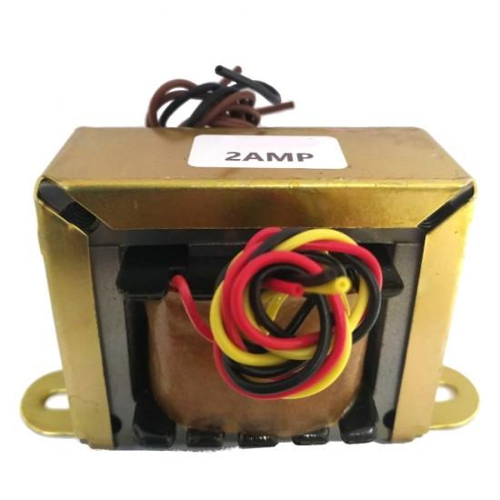 Transformador 4,5+4,5V 2A - Entrada 110/220VAC