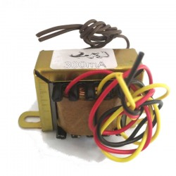 Transformador 7,5+7,5 300mA - Entrada 110/220VAC