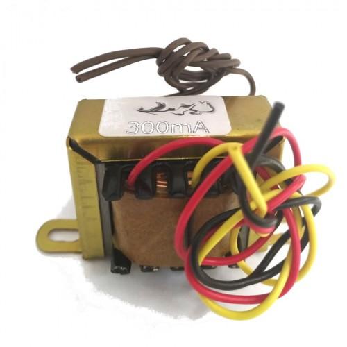 Transformador 9+9V 300mA - Entrada 110/220VAC