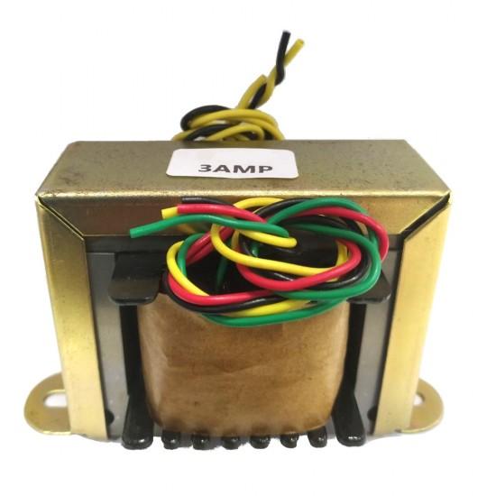 Transformador 9+9V 3A - Entrada 110/220VAC