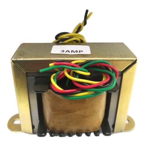 Transformador 18+18V 3A - Entrada 110/220VAC