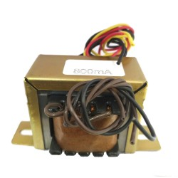 Transformador 6+6 800mA - Entrada 110/220VAC