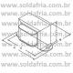 Transformador 4,5+4,5 3A - Entrada 110/220VAC