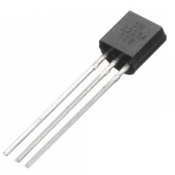 Transistor 2N2222A (KSP2222A/PN2222A) Plastico