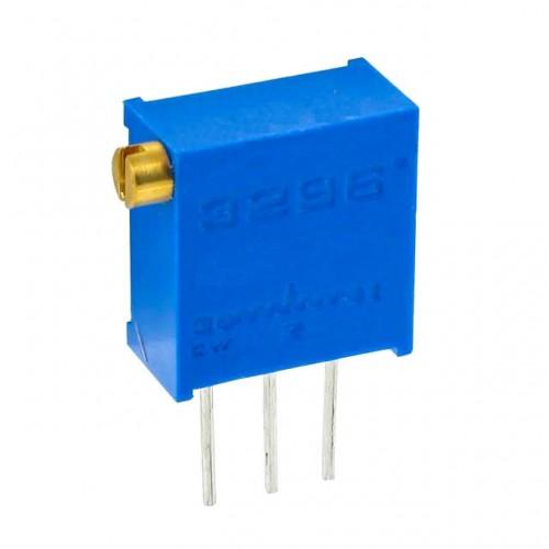 Trimpot Multivoltas 3296X 500 Ohms (500R/501) 25 Voltas