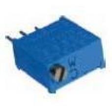 Trimpot Multivoltas 3296W 10 Ohms (10R/100) 25 Voltas