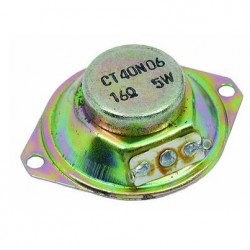 Tweeter 1 1/2 Polegadas 16 Ohms 5W Blindado