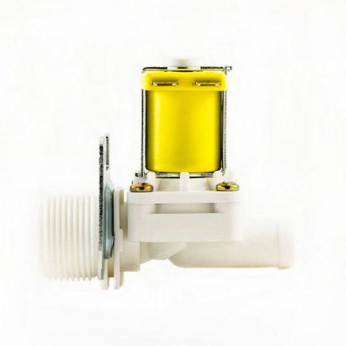 Válvula Solenoide VA01 3/4 Mangueira X 1/2 180 Graus 110VAC