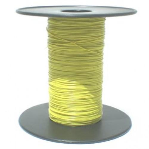 Metro Do Fio Wire-Wrap Amarelo 28AWG